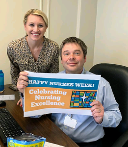 Physicians say Happy Nurse's Week (May 2019)