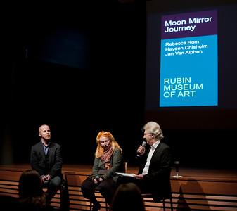 """""""Moon Mirror Journey"""" - Rebecca Horn, Hayden Chisholm & Jan Van Alphen at the Rubin Museum"""