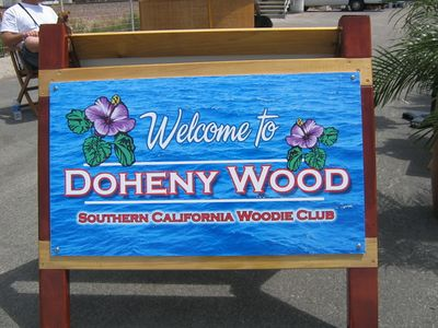 Woodies at Doheny, April 2004