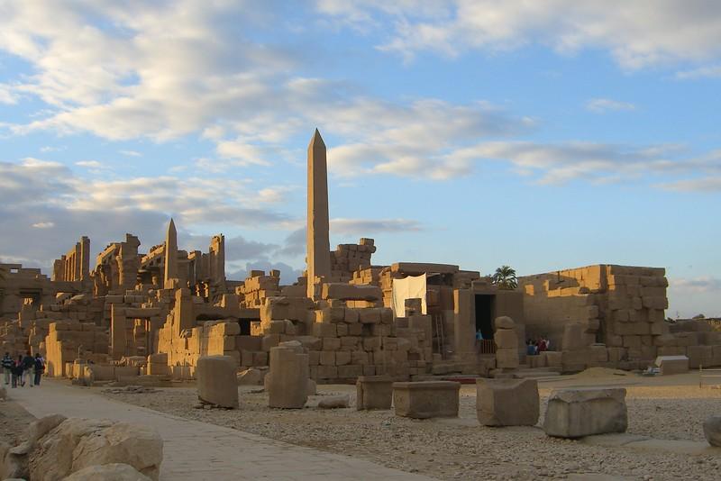 Karnak in Late Afternoon - Henry Von Kohorn