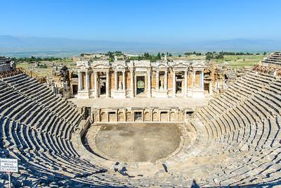 Amphitheater of Hierapolis, Turkey