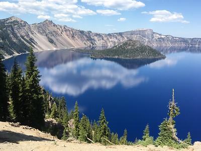 Crater Lake Oregon 2016 (I Phone photos)