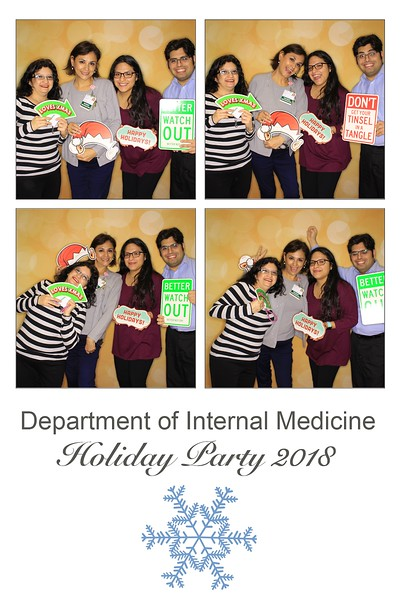 "Rush University Medical Center ""Department of Internal Medicine Holiday Party 2018"""