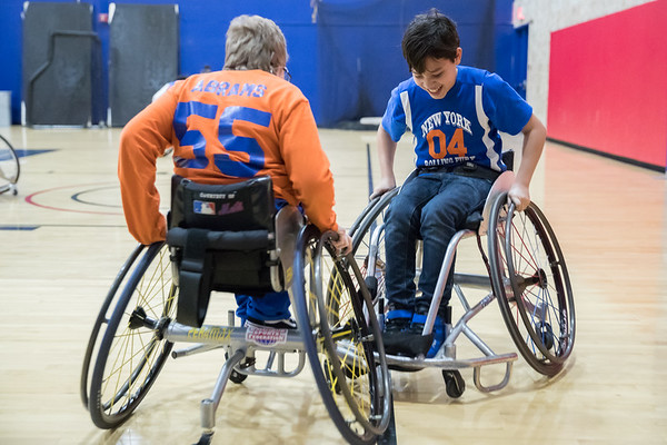 3-7-2020 NY Rollin' Knicks Kids Wheelchair Basketball Camp