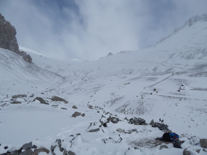 View towards Camp 2