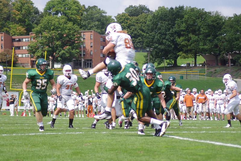 2009 Lutheran West Alumnus, Adam Moses, excels at Waynesburg University. Article published in Waynesburg University newspaper touches on football, family, academics and the future.