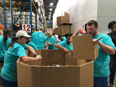 Values in Action - Food Bank Volunteer Day (May 2018)