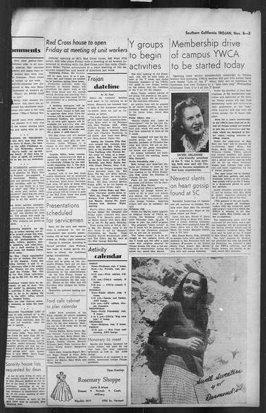 The Trojan, Vol. 35, No. 47, November 08, 1943