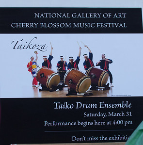 Taikoza - Taiko Drumming Ensemble at the National Gallery of Art