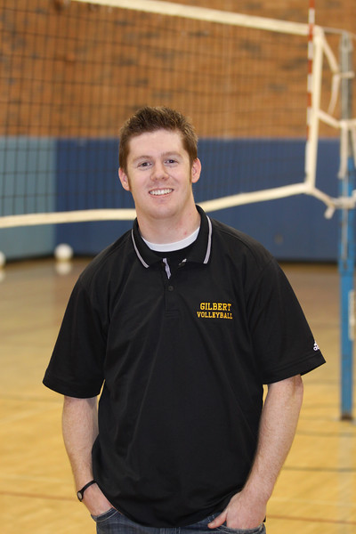 Josh Turley, Gilbert High School Boys Volleyball Coach 2010