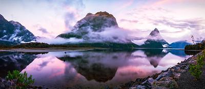 Hai Thi Nguyen - MORNING LIGHT MILFORD SOUND PANO NZ