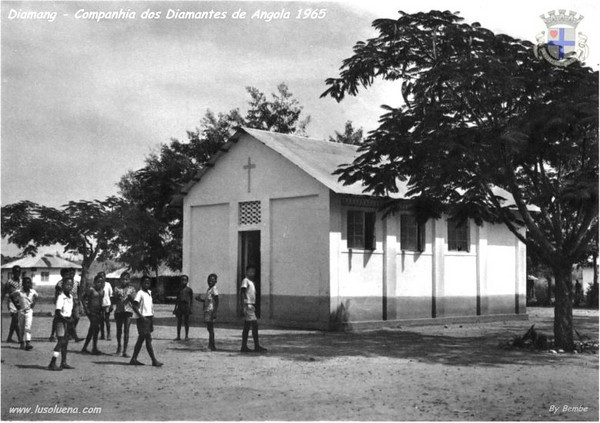 Andrada 1965- posto escolar do Camatai, no centro urbano de Andrada