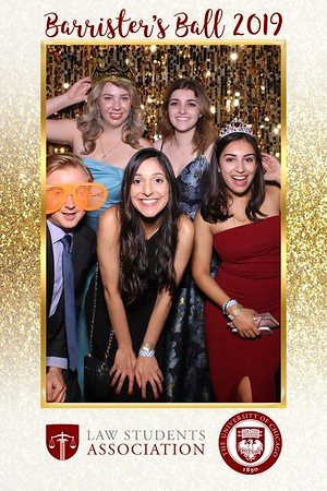 Barrister's Ball 2019 Mirror Booth