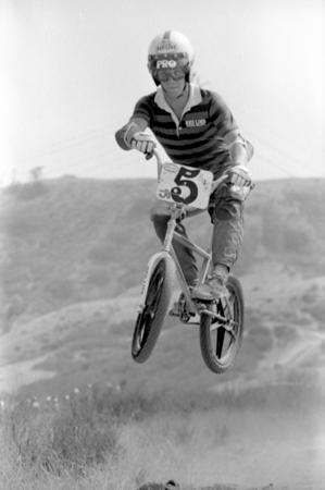 1977 Yarnell Street track -photos by Russ Okawa
