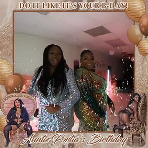 Auntie Portia's Birthday Celebration