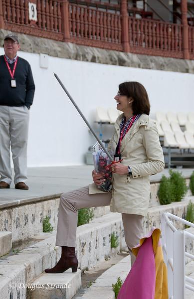 Sun 3/13 in Malaga: Filipa wields the sword