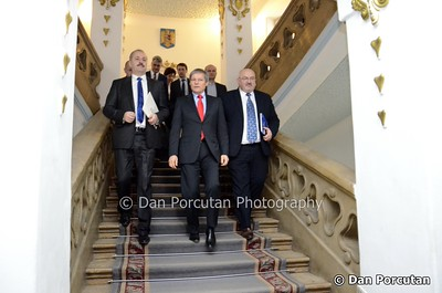 Romanian Prime Minister Dacian Ciolos in working visit to Cluj