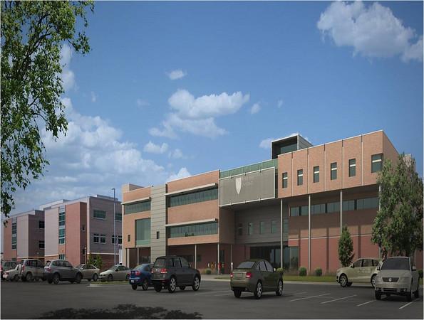 WSU-Davis Building Initial Renderings 2011