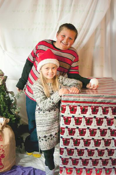 Logan and Kailey Christmas 2016
