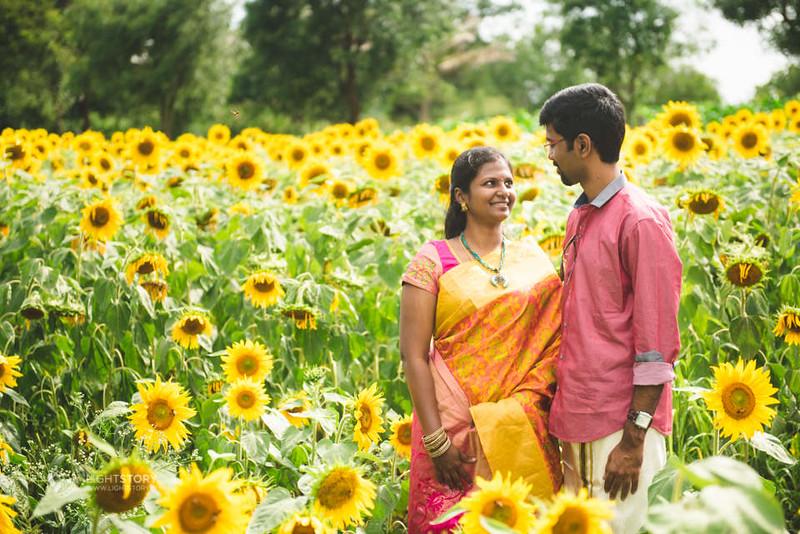 LightStory-CoupleShoot-Hassan-Bangalore-Hoysaleswara-Halebidu-Sunflowers-061.jpg
