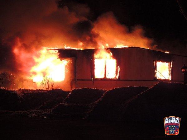 Fatal mobile home fire on February 26, 2014