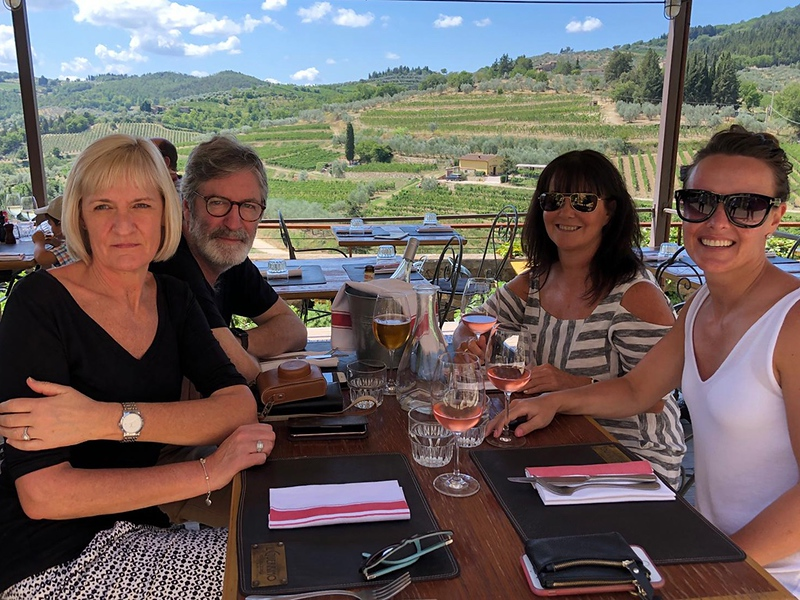 Lunch in Chianti