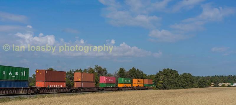 Railroading in Ontario Canada September 2017