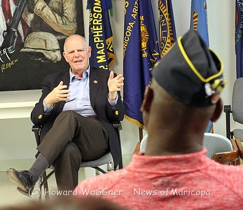 Congressman O'Halleran Meets with Vets 2-16-2019