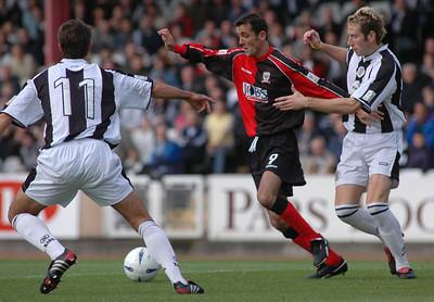 St Mirren v Airdrie United (1.1) 25 9 04