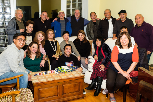 Annual Christmas Reunion at the Nepomucenos