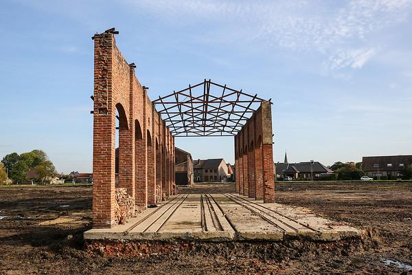 Afbraak steenfabriek SAS (Sint-Jozef Rijkevorsel)