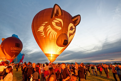 Balloon Fiesta Glowdeo - Oct 12, 2018