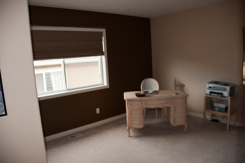 Third bedroom.  11x14, will be expanded to 14x14 when bonus room is added