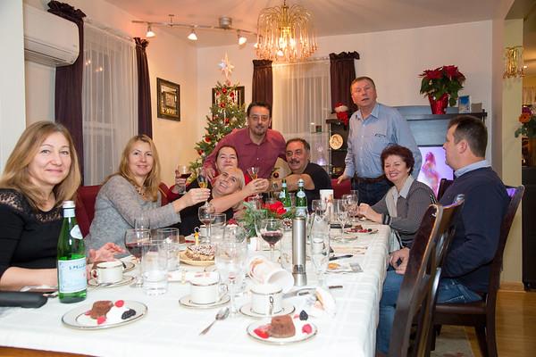 Friends dinner at Misi - December 10, 2016