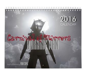 2016 Burning Man CALENDAR