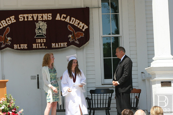 George Stevens Academy Graduation 2014