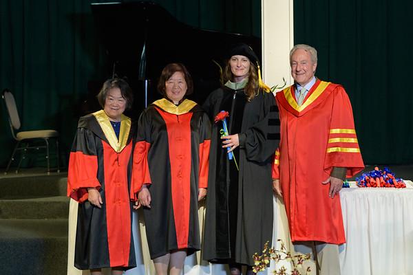 Graduation - Santa Cruz April 2018 Diplomas
