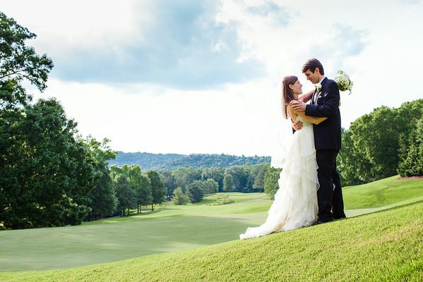 wedding: francie and heath
