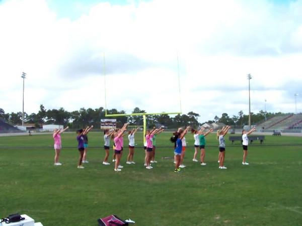 NHS JV/F Cheerleading 2011-2012
