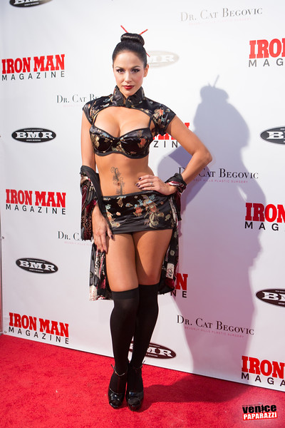 2015  Iron Man Magazine's Halloween party.  www.ironmanmagazine.com   Photo by Venice Paparazzi