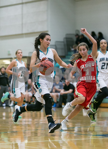 Juan Diego vs Judge Girls Varsity Basketball