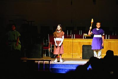 Fourth Grade Beowulf Play - January 29, 2010