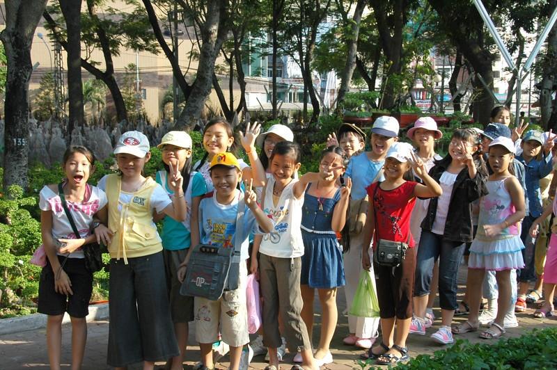 Kids on a Field Trip - Saigon, Vietnam