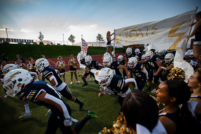 PHOTOS: Legacy Football Can't Catch Pomona in 20-26 Loss