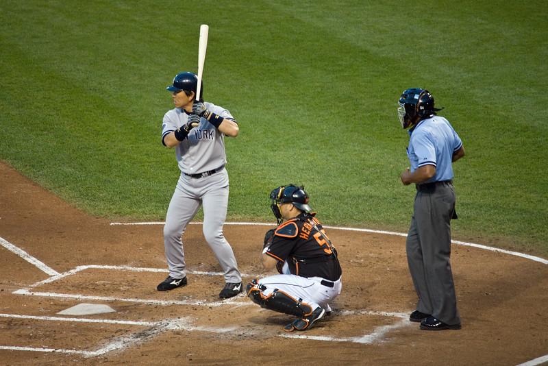 2008-08-22   Yankees v. Orioles @ Camden Yards