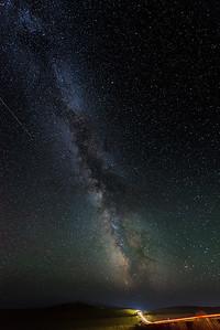 Milky Way Above Mongolia