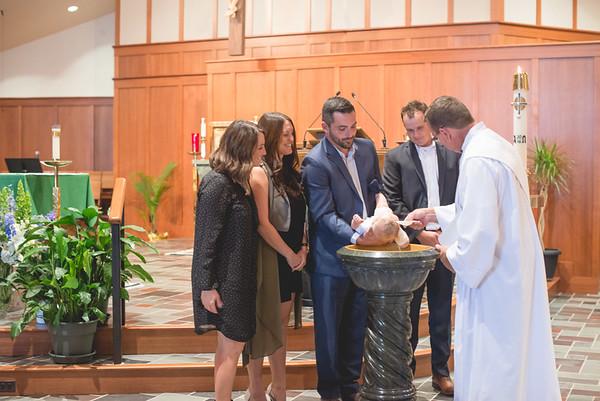 Cole Flora Baptism