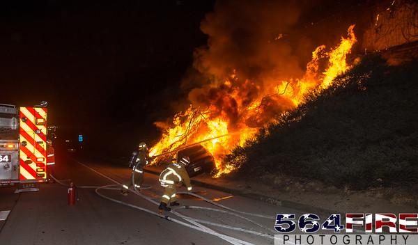 LAFD - Auto Fire - 11-27-15