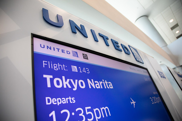6-11-18 United Airlines 5th Anniversary to Tokyo Gate Event
