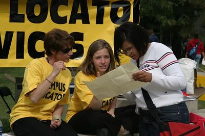 Welcome Week Campus Locator 2003